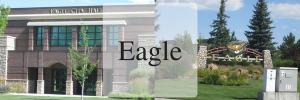 Eagle City Hall, Eagle sign, eagle idaho real estate, eagle idaho neighborhood